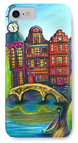 My Amsterdam Phone Case by Beryllium Canvas