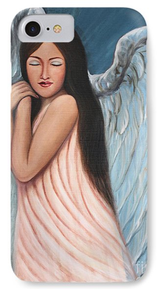 My Angel In Blue IPhone Case