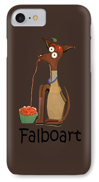 My Applehead Chiwawa IPhone Case by Anthony Falbo