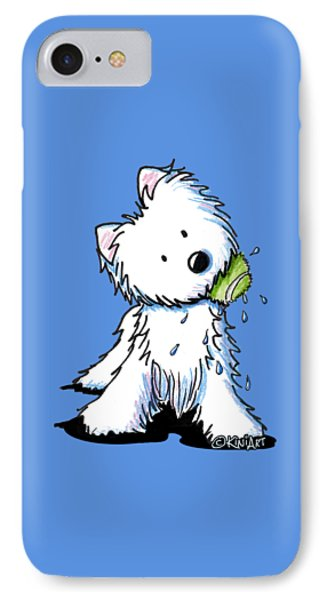 My Ball My Rules IPhone Case by Kim Niles