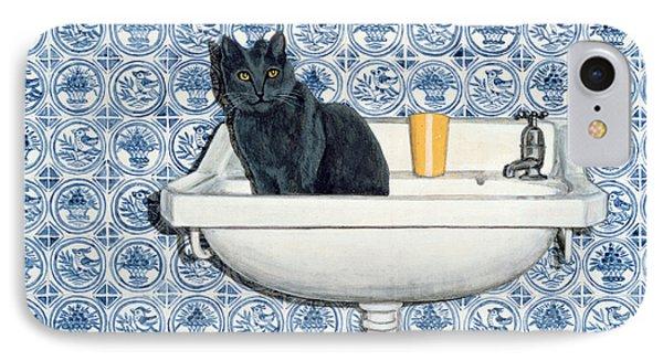 My Bathroom Cat  IPhone Case