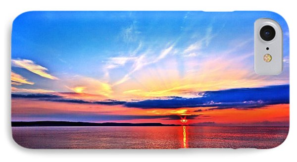 IPhone Case featuring the photograph My Blue Heaven by Baggieoldboy