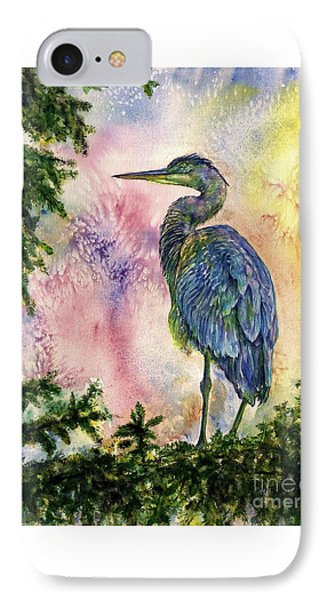 My Blue Heron IPhone Case