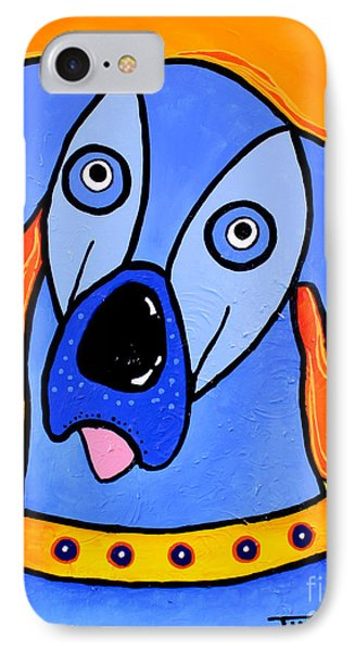My Brother Is Blue Too Phone Case by Tim Ross