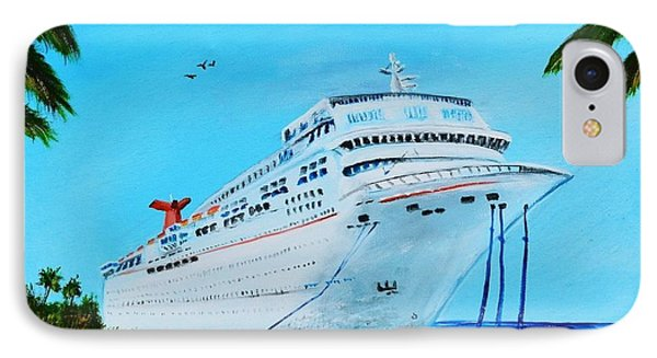 My Carnival Cruise IPhone Case by Lloyd Dobson
