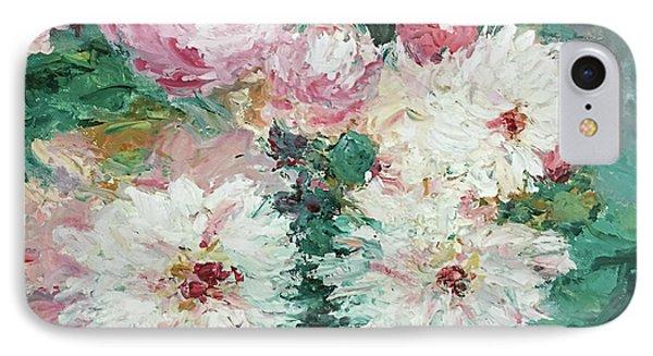 My Chrysanthemums IPhone Case by Barbara Anna Knauf