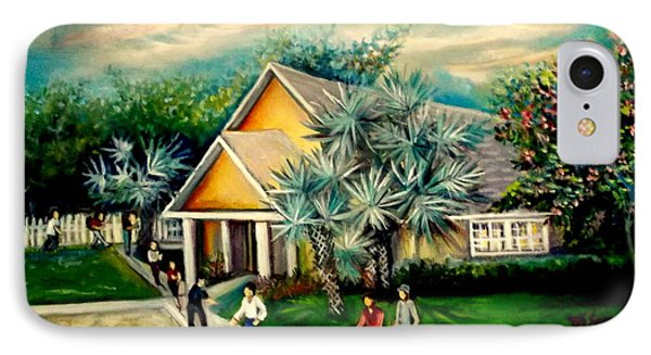 IPhone Case featuring the painting My Church by Yolanda Rodriguez