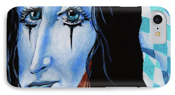IPhone Case featuring the painting My Dearest Friend Pierrot by Igor Postash