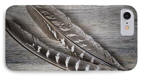IPhone Case featuring the photograph My Fabulous Feathery Find. by Karen Stahlros
