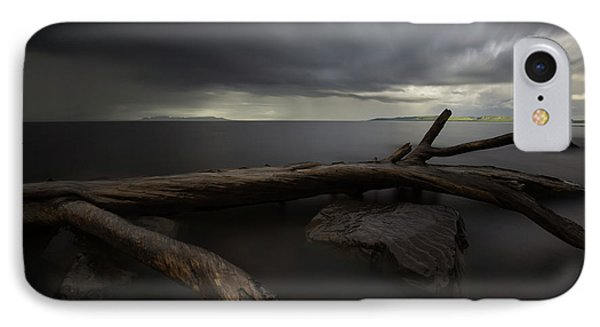 My Favourite Piece Of Driftwood, The Giant And A Thuderstorm IPhone Case
