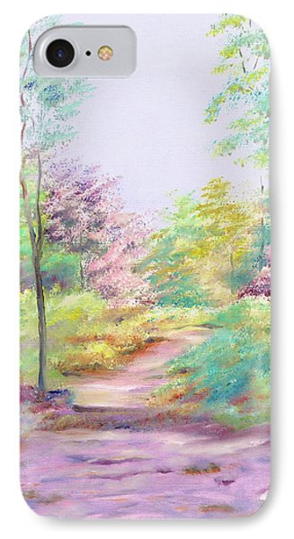 IPhone Case featuring the painting My Favourite Place by Elizabeth Lock