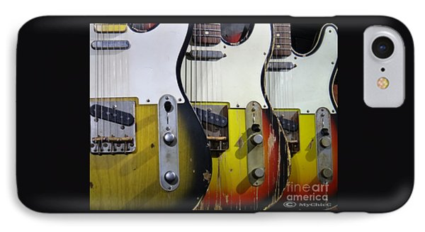 My Fender Telecaster IPhone Case by Art by MyChicC