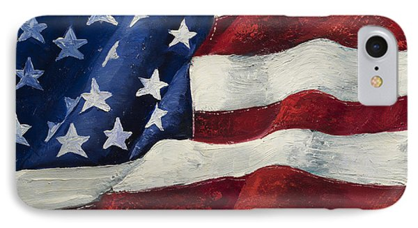 My Flag IPhone Case by Jodi Monahan