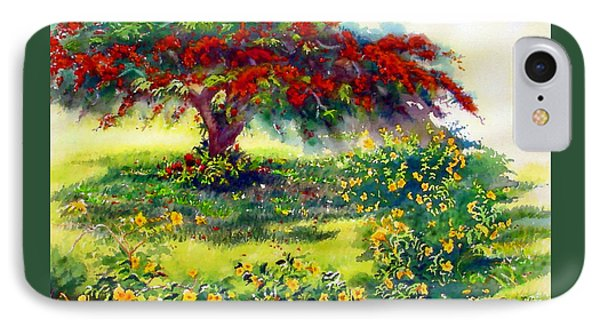 My Flamboyant Tree Phone Case by Estela Robles