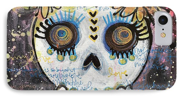 My Future Is So Bright With You Phone Case by Laurie Maves ART