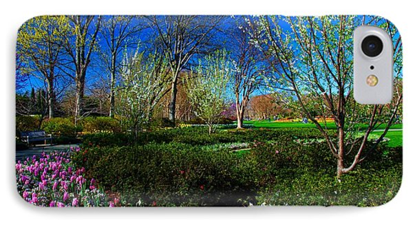 My Garden In Spring IPhone Case