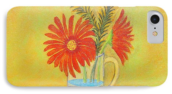 My Gerber Daisies IPhone Case by Manny Chapa