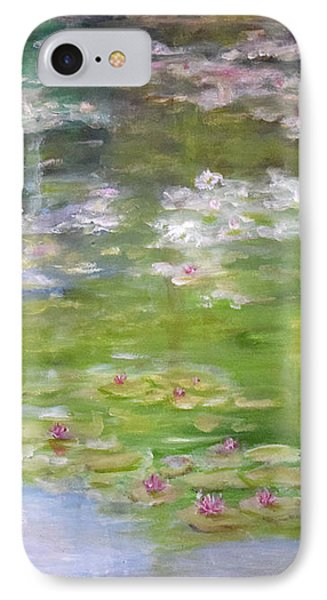 IPhone Case featuring the painting My Giverny by Sandra Nardone