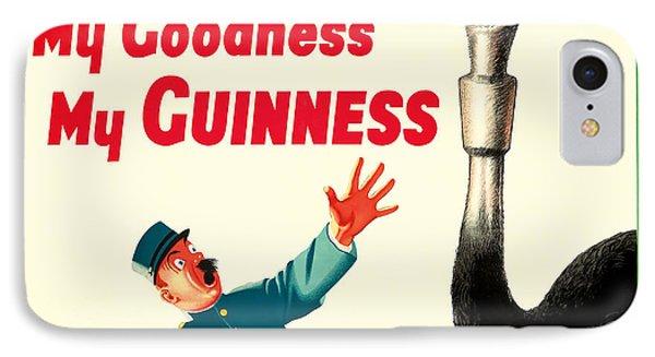 My Goodness My Guinness IPhone Case by Jon Neidert
