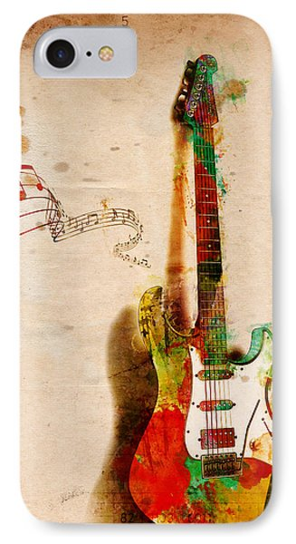 My Guitar Can Sing Phone Case by Nikki Smith