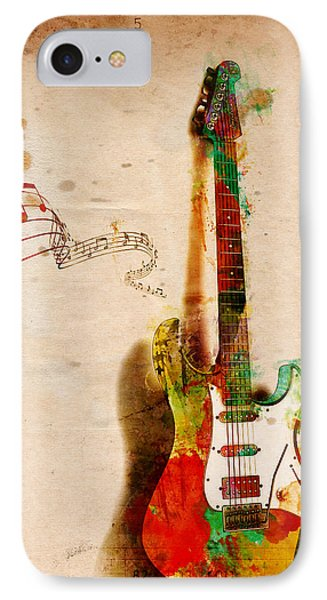 My Guitar Can Sing IPhone 7 Case by Nikki Smith