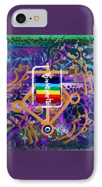 Plenary Healing My Happy Chakras Phone Case by Rizwana Mundewadi