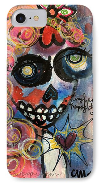My Heart Is So Happy To Know You Phone Case by Laurie Maves ART