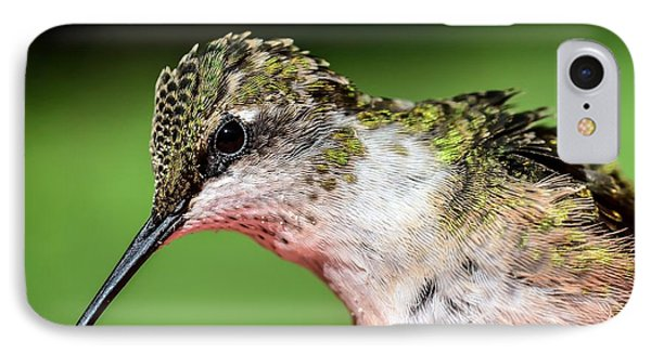 My Hummingbird IPhone Case by Debbie Green