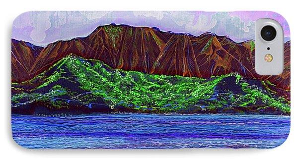 My Island Design  IPhone Case by Debbie Chamberlin