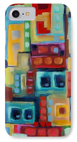 IPhone Case featuring the painting My Jazz N Blues 3 by Holly Carmichael