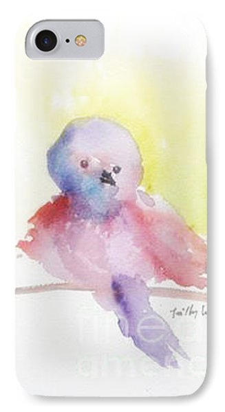 IPhone Case featuring the painting My Little One by Trilby Cole