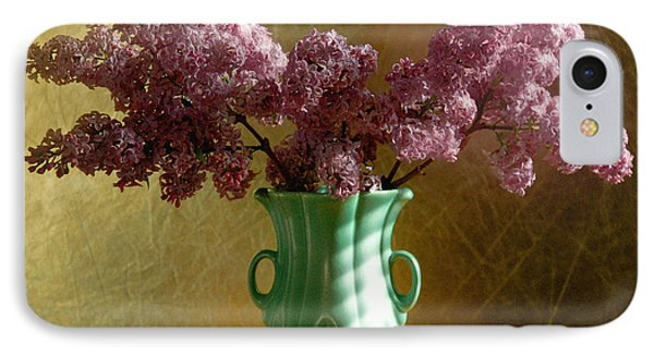 My Mother's Lilacs Phone Case by Wendy Blomseth