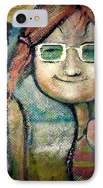 My New Shades IPhone Case by Eleatta Diver