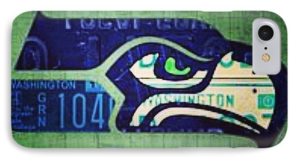 My Pick For Game 1.  #seattle IPhone Case by Design Turnpike