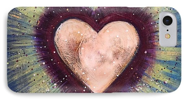 IPhone Case featuring the painting My Royal Heart by Laurie Maves ART