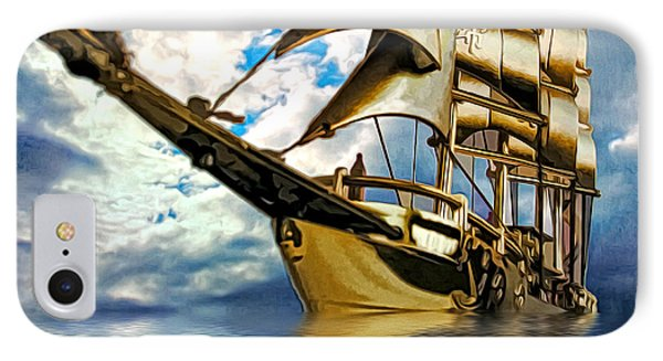 My Ship Comes In Phone Case by Pennie  McCracken