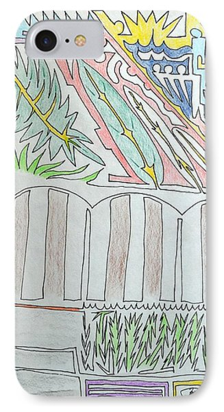 My Side Yard IPhone Case by J R Seymour