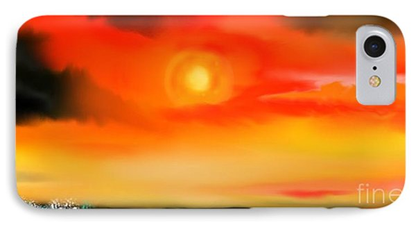 IPhone Case featuring the painting My Soul by Lori  Lovetere