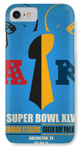 My Super Bowl Steelers Packers IPhone Case by Joe Hamilton