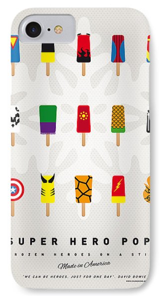 My Superhero Ice Pop - Univers IPhone Case by Chungkong Art