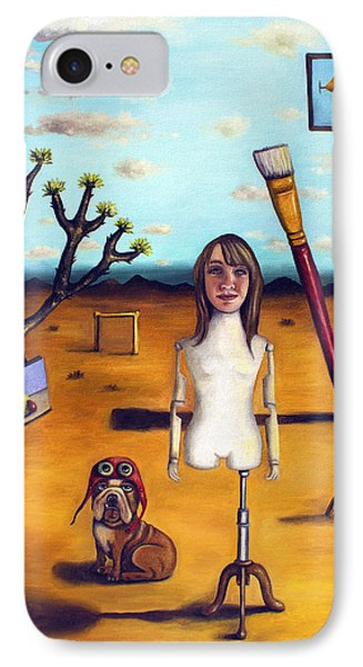 My Surreal Life Phone Case by Leah Saulnier The Painting Maniac