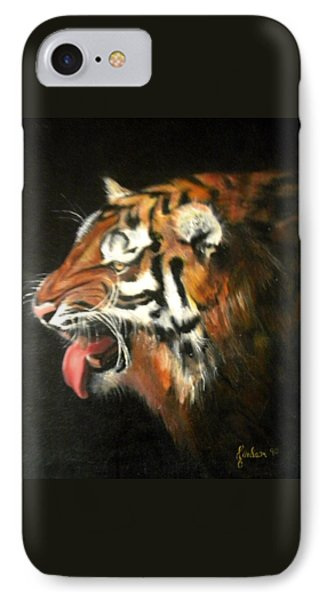 My Tiger - The Year Of The Tiger IPhone Case by Jordana Sands