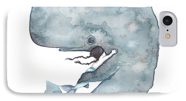 My Whale IPhone Case by Soosh