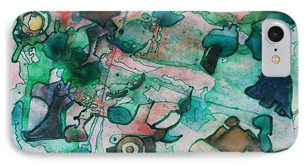 My Yard IPhone Case by Betty Lu Aldridge