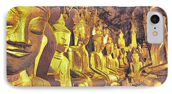 Myanmar Buddhas Phone Case by Dennis Cox WorldViews