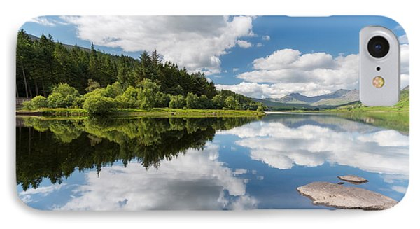 Mymbyr Lake IPhone Case by Adrian Evans