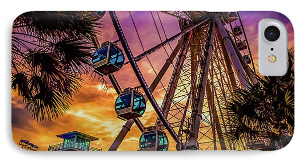 Myrtle Beach Skywheel IPhone Case