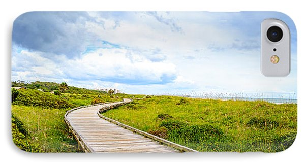 Myrtle Beach State Park Boardwalk IPhone Case