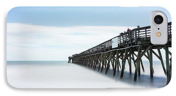 Myrtle Beach State Park Pier IPhone Case by Ivo Kerssemakers