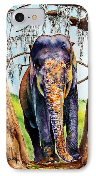 IPhone Case featuring the painting Mysore by Maria Barry